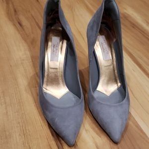 Blue Ted Baker heels